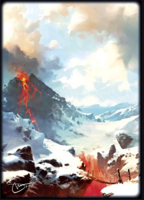 Протекторы Blackfire Double-Matte. Svetlin Velinov. Mountain (64х89 мм., 50 шт.)