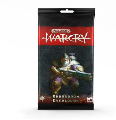 Warhammer. WarCry: Kharadron Overlords Card Pack​ настольная игра